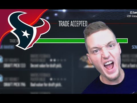 MEGA TRADE FOR 97 OVERALL PLAYER GETS ACCEPTED! - Madden 17 Houston Texans Connected Franchise #5