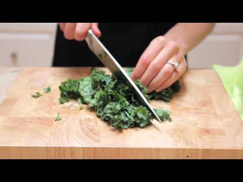 basic steamed kale