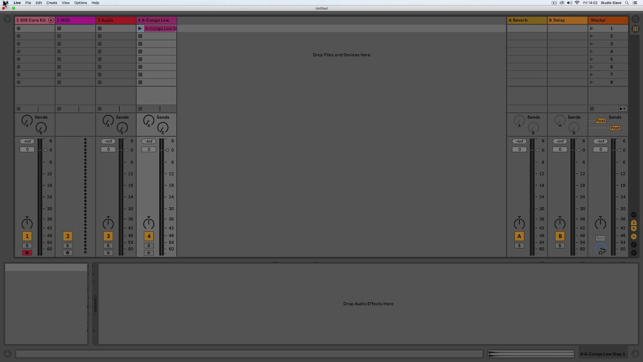 Quick Start 3 - Layout Overview | Ableton Live 10 Lite Edition