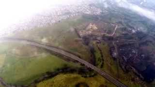 FPV Under Bridge & Cloud Surfing
