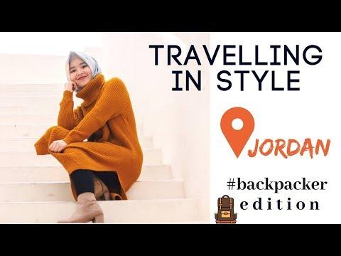 OOTD while in Jordan // Travel Lookbook Ep. 1