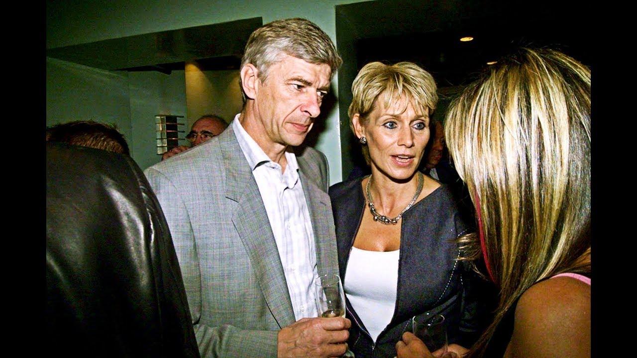Arsène Wenger and ex-wife Annie Brosterhous