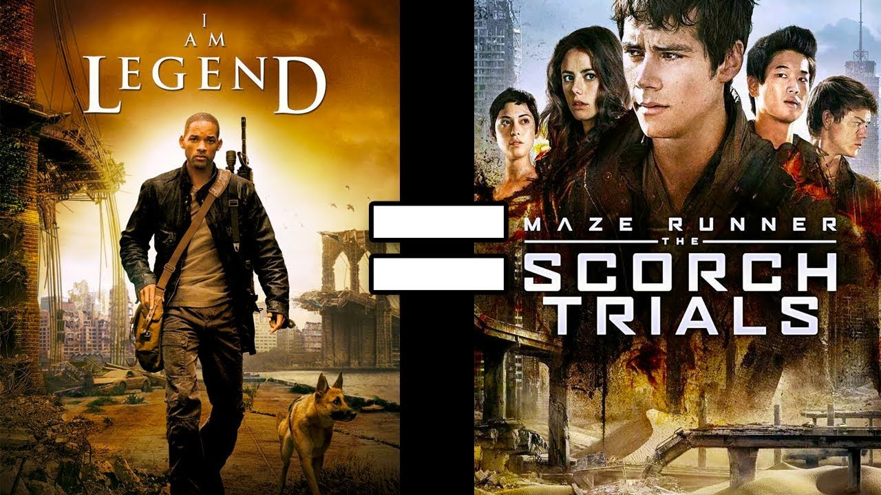 24 Reasons I Am Legend & Maze Runner 2 Are The Same Movie - YouTube