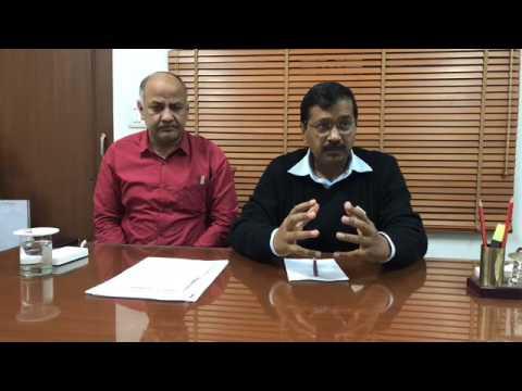 Interaction between Arvind Kejriwal & volunteers