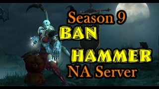 Diablo 3 BIG Ban Wave Season 9 - Blizzard lays down BAN HAMMER