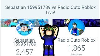 🔴Sebastian 159951789 vs Radio Cuto Roblox - Road 2000