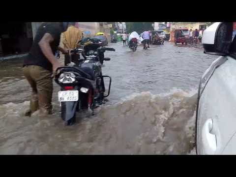 TODAY VARANASI RAIN DAY Extreme Thunderstorm With Strong Winds And Heavy Rain VIDEO