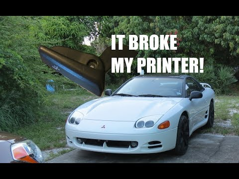 3D Printed 3000GT Parts Disaster!