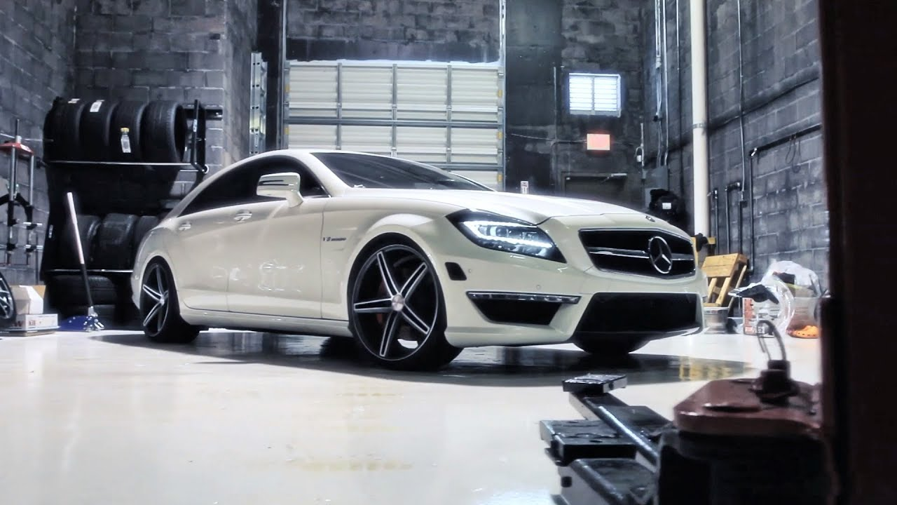 Mercedes Benz Cls63 Amg On 20 Quot Vossen Vvs Cv5 Concave