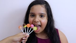 Learn Colors With Lollipops Finger Family Song