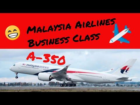 Bangkok to Kuala Lumpur -  Malaysia Airlines A-350 MH 783 - Business Class - Trip Report