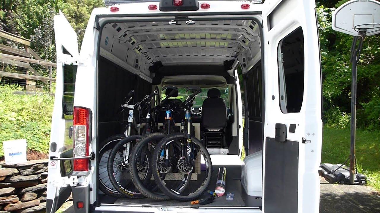 Dodge Promaster Camper Van Buying Floor Bikes And