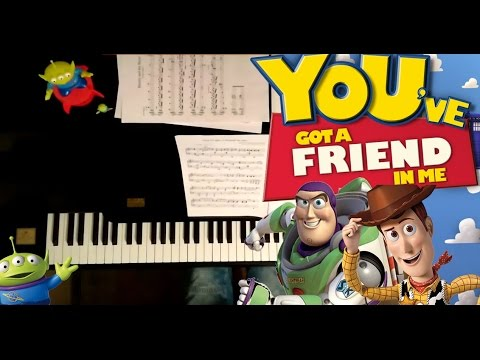 Toy Story Youve Got A Friend In Me Piano Cover Sheet Music