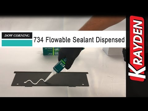 Dow Corning 734 Flowable Sealant Dispensed