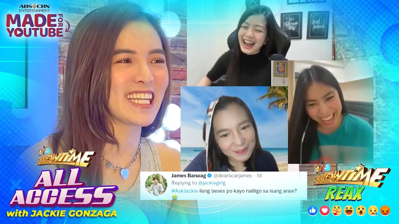 Download Showtime Reax with Ate Girl Jackie   Showtime All-Access