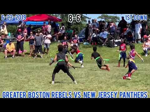 GREATER BOSTON REBELS Vs NEW JERSEY PANTHERS