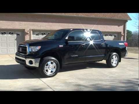 2010 Toyota Tundra Sr5 Leather 4x4 Navigation Crew Max For