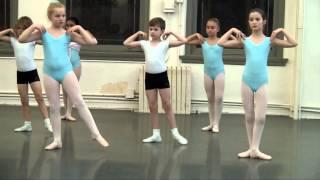 Level 1A Ballet Class JKO School Max Barker December 2012