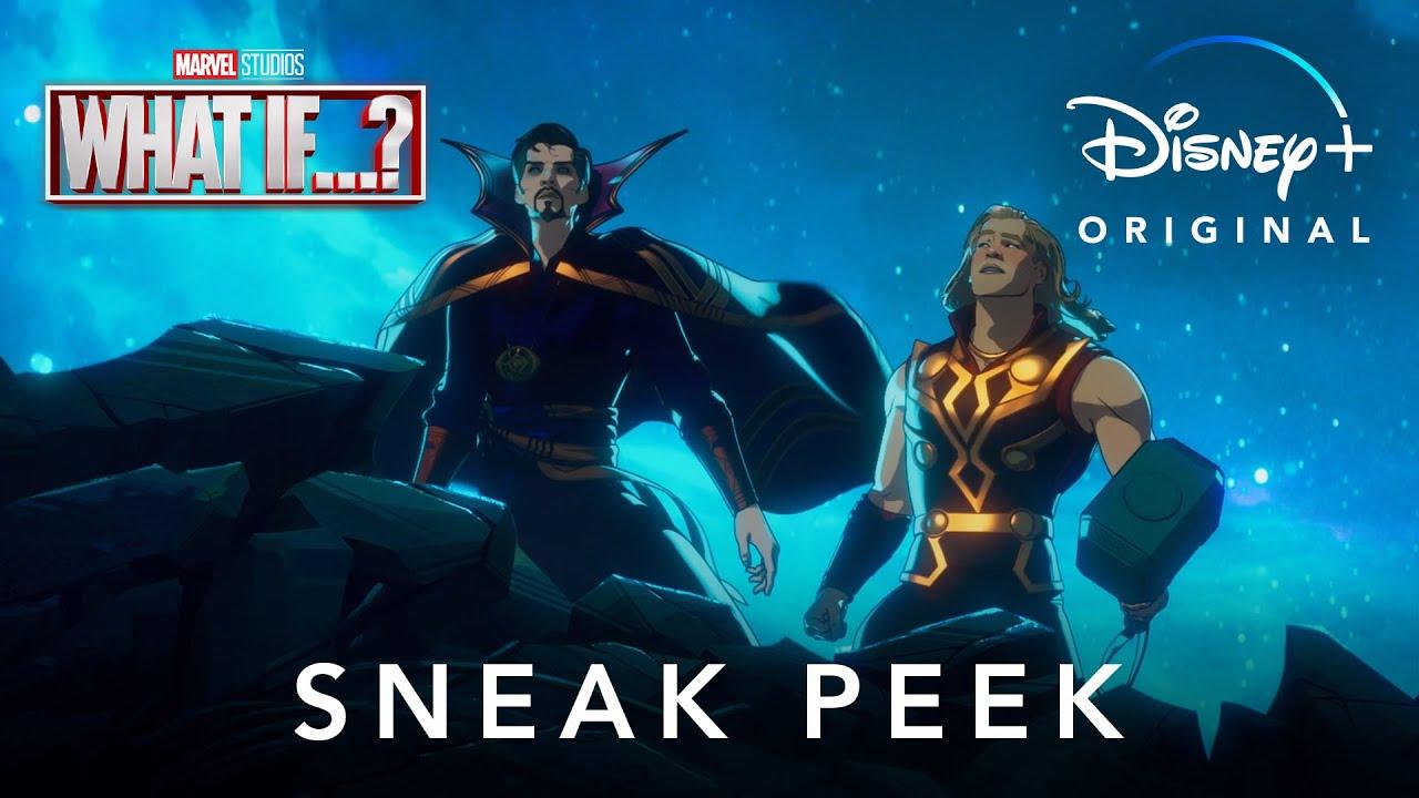 What If...? | Marvel Studios | Sneak Peek Dublado | Disney+
