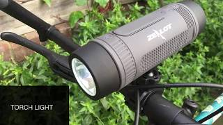 Zealot 3 in 1 Bluetooth Speaker ( Torchlight + Power Bank)