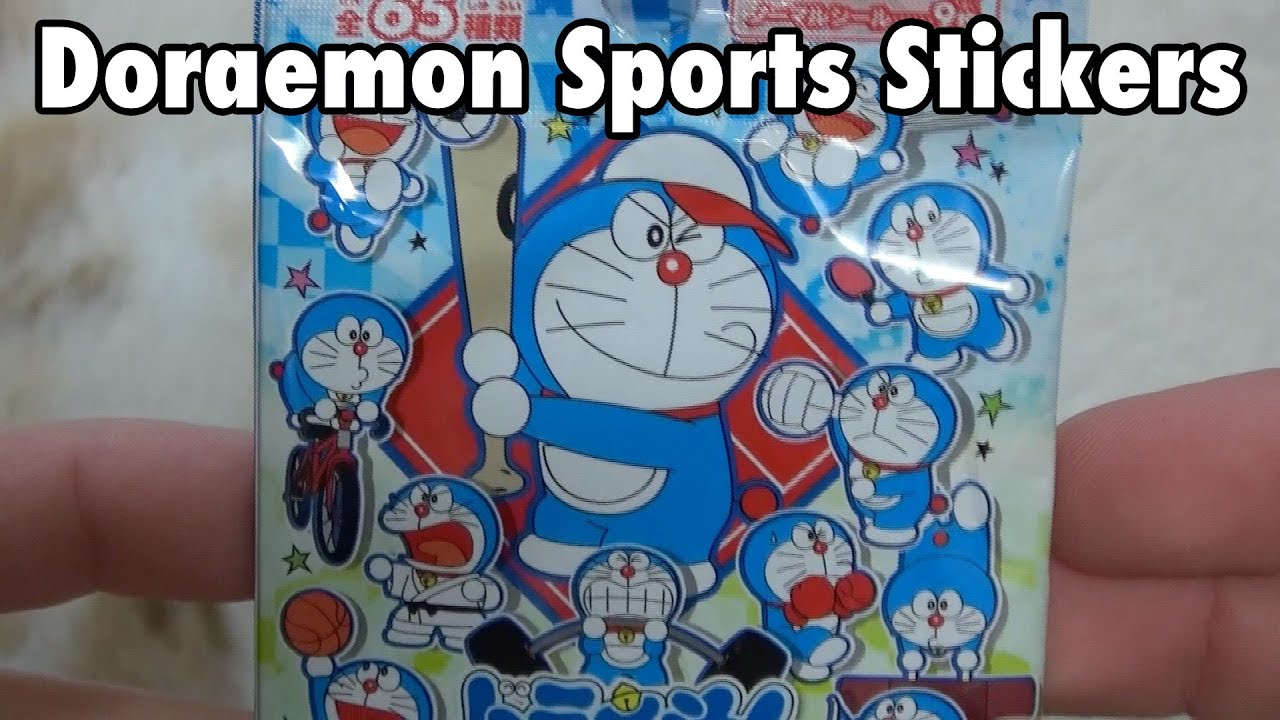 Doraemon Sports Stickers ドラえもんスポーツ大集合