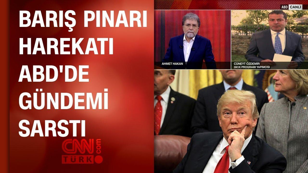 Cüneyt Özdemir 'Barış Pınarı Harekatı'nın ABD'deki yankılarını anlattı