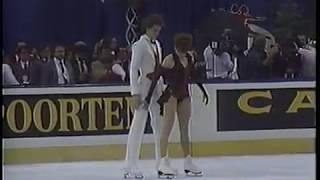 Natalia Bestemianova & Andrei Bukin USR - 1987 World Championships FD