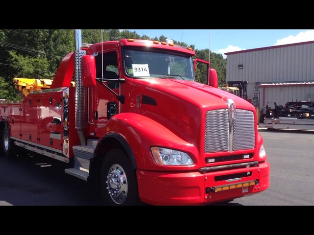 SOLD!!! Take a Tour - 2012 Kenworth T440 & 25 Ton B&B Wrecker Body