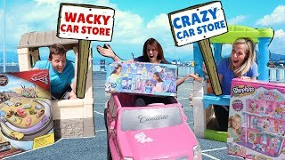 Crazy Car Store Competes with Wacky Car Store