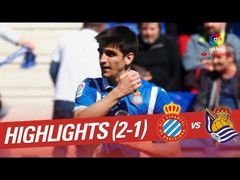 Resumen de RCD Espanyol vs Real Sociedad (2-1)