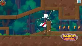Rabbit Samurai - rope swing hero
