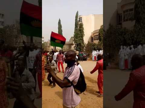 Biafra's in federal high court Abuja 20th of March 2017