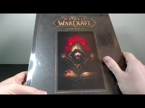 World of Warcraft: Chronicle Volume 1 Book Details/Unboxing