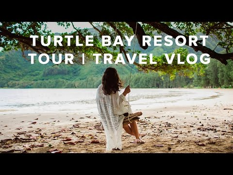 Turtle Bay Resort Tour // travel vlog