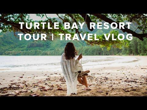 Turtle Bay Resort Tour // Travel Vlog