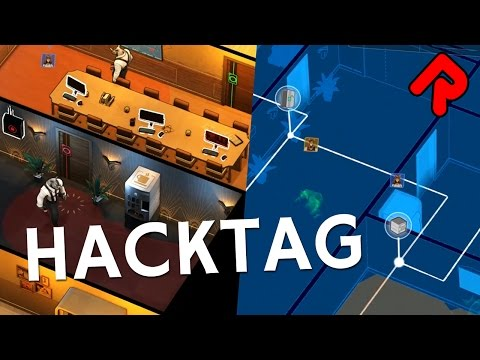 Hacktag gameplay: Co-op stealth hacking game! | Let's play Hacktag beta (with Pete Nu)