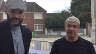Hommage des musulmans ahmadis au père Jacques Hamel