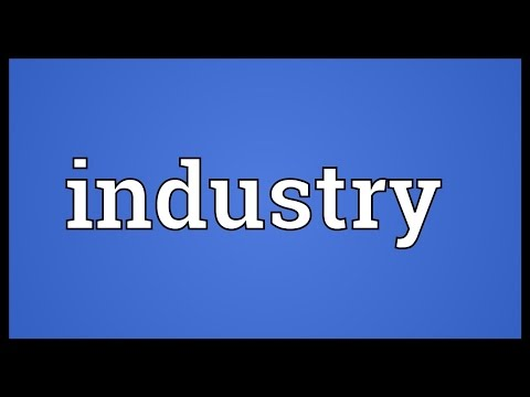 Industry Meaning