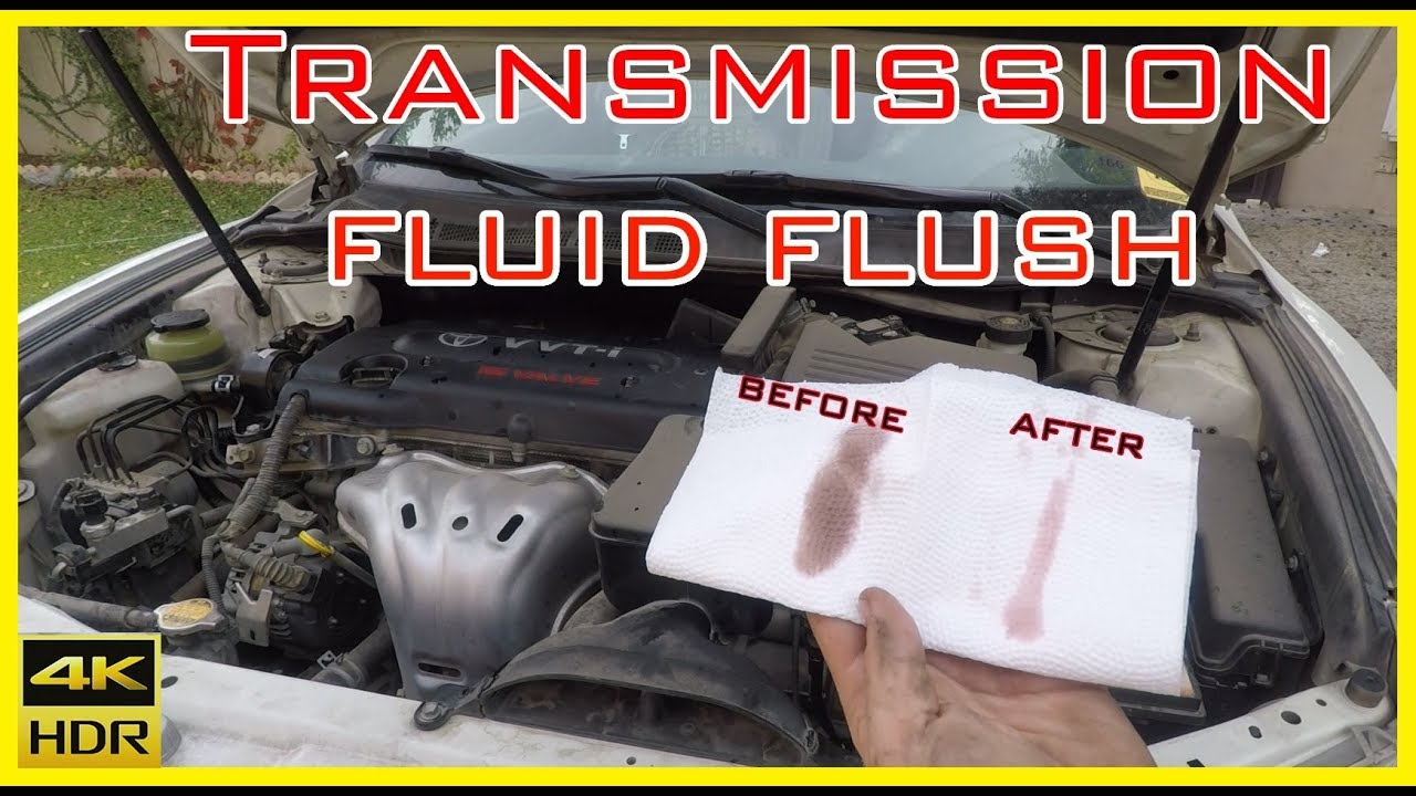 2007 toyota camry transmission fluid type