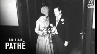 Washington Sees Wedding Of The Season (1950)