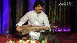 Ustad Homayoun Sakhi (Rubab) Raag KIRWANI (New composition, full-length video) at The Music Room