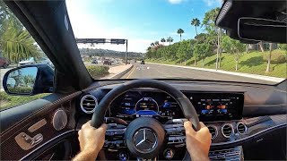 2021 Mercedes-AMG E63 S 4Matic+ Sedan POV Drive (3D Audio)(ASMR)
