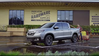 homepage tile video photo for Honda Ridgeline: Versatility :30