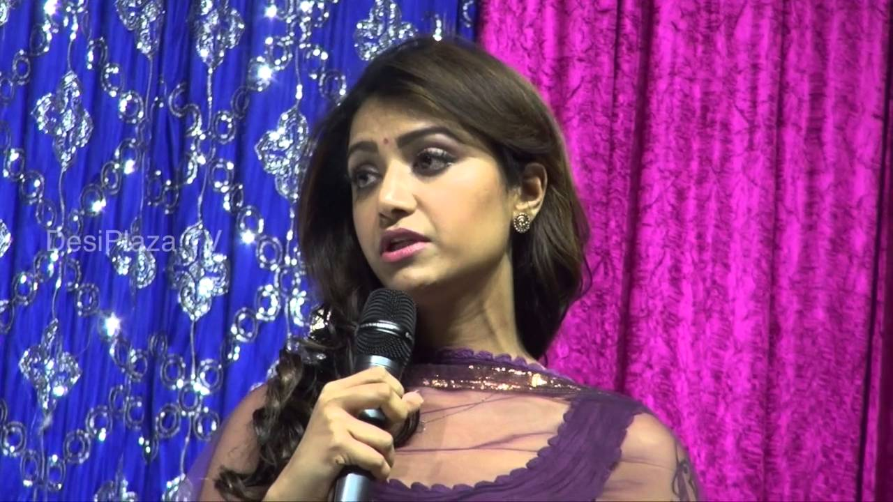 Actress Mamta Mohandas speaking at Life Again World Wide Launch event in Dallas.