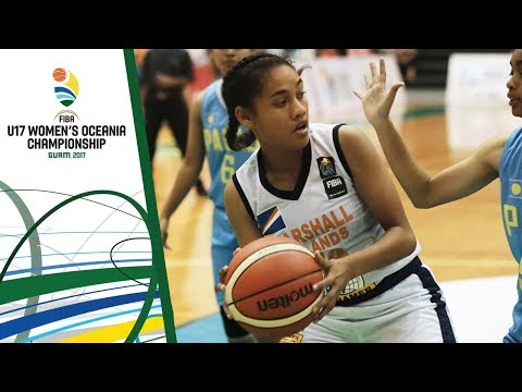 Palau v Marshall Islands - 3rd Place Div. B - Full Game - FIBA U17 Women's Oceania Championship 2017