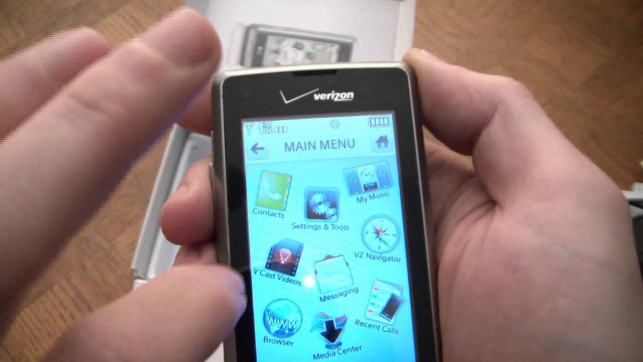 lg dare multimedia touch smartphone unboxing and review youtube rh youtube com LG Mobile Phones by Verizon Verizon Phones