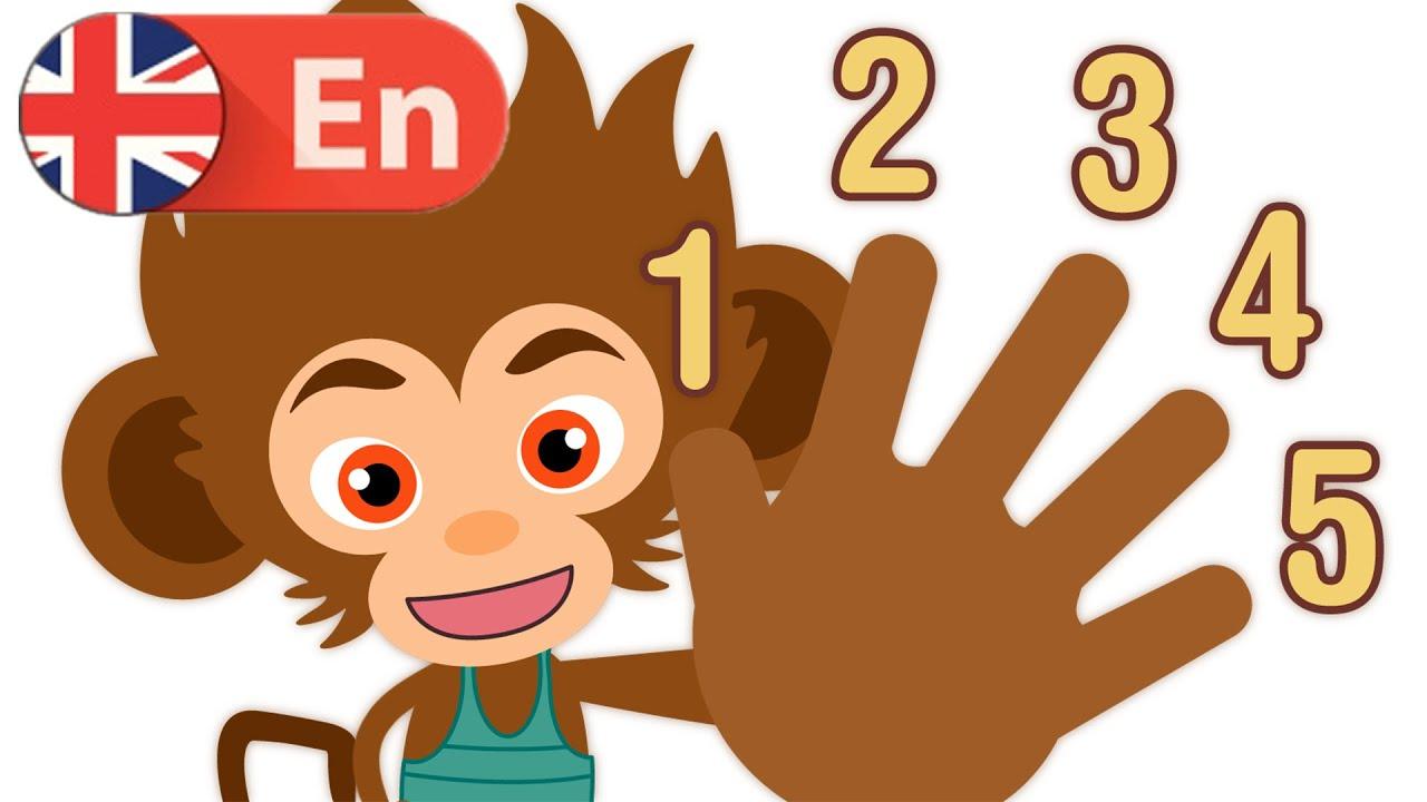 Números Del 1 Al 10 En Inglés Canciones Infantiles Hd Youtube