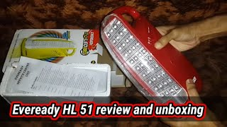 Eveready HL 51 Emergency Lights led lamp/lantern unboxing review buy online in India lowest price