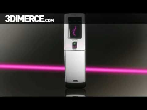 T-Mobile Nokia 6650 3D product video by 3DIMERCE.com