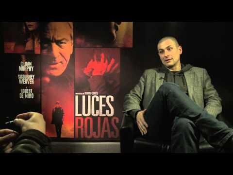 """Víctor Riverola entrevista a Rodrigo Cortés (""""Red Lights"""")"""